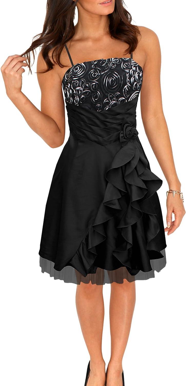 BlackButterfly /'April/' Satin Bliss Waterfall Evening Bridesmaid Prom Dress