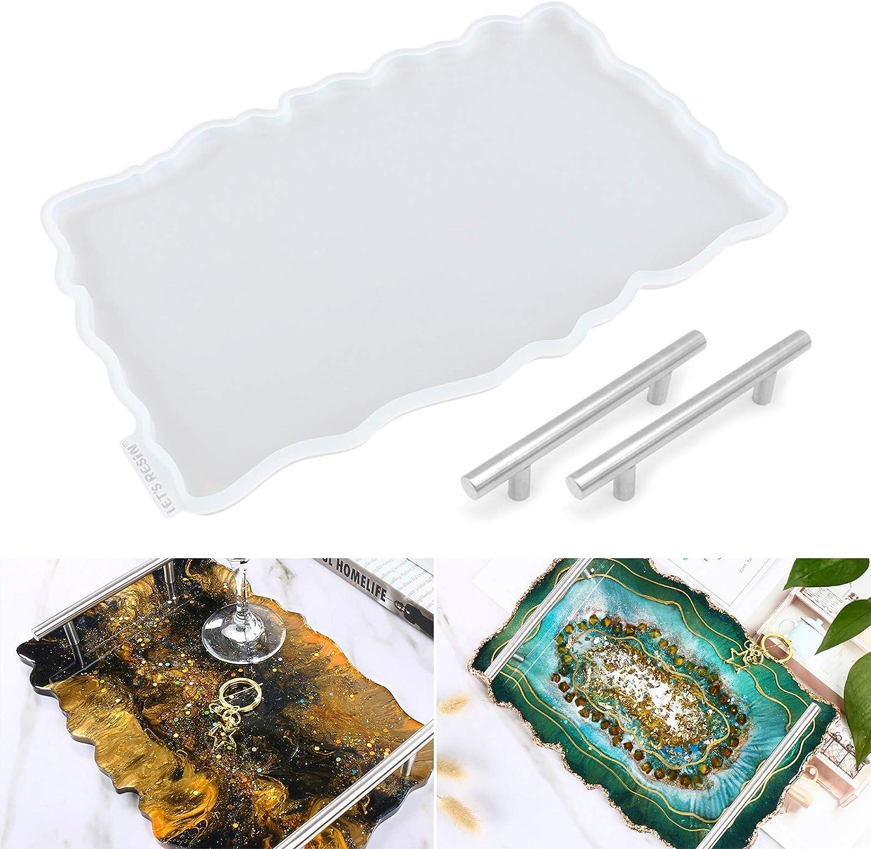 Epoxy resin tray