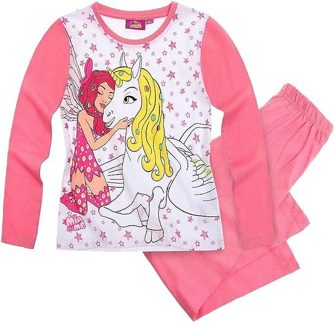 Mia and Me - Pijamas enteros - para bebé niña Blanco blanco ...
