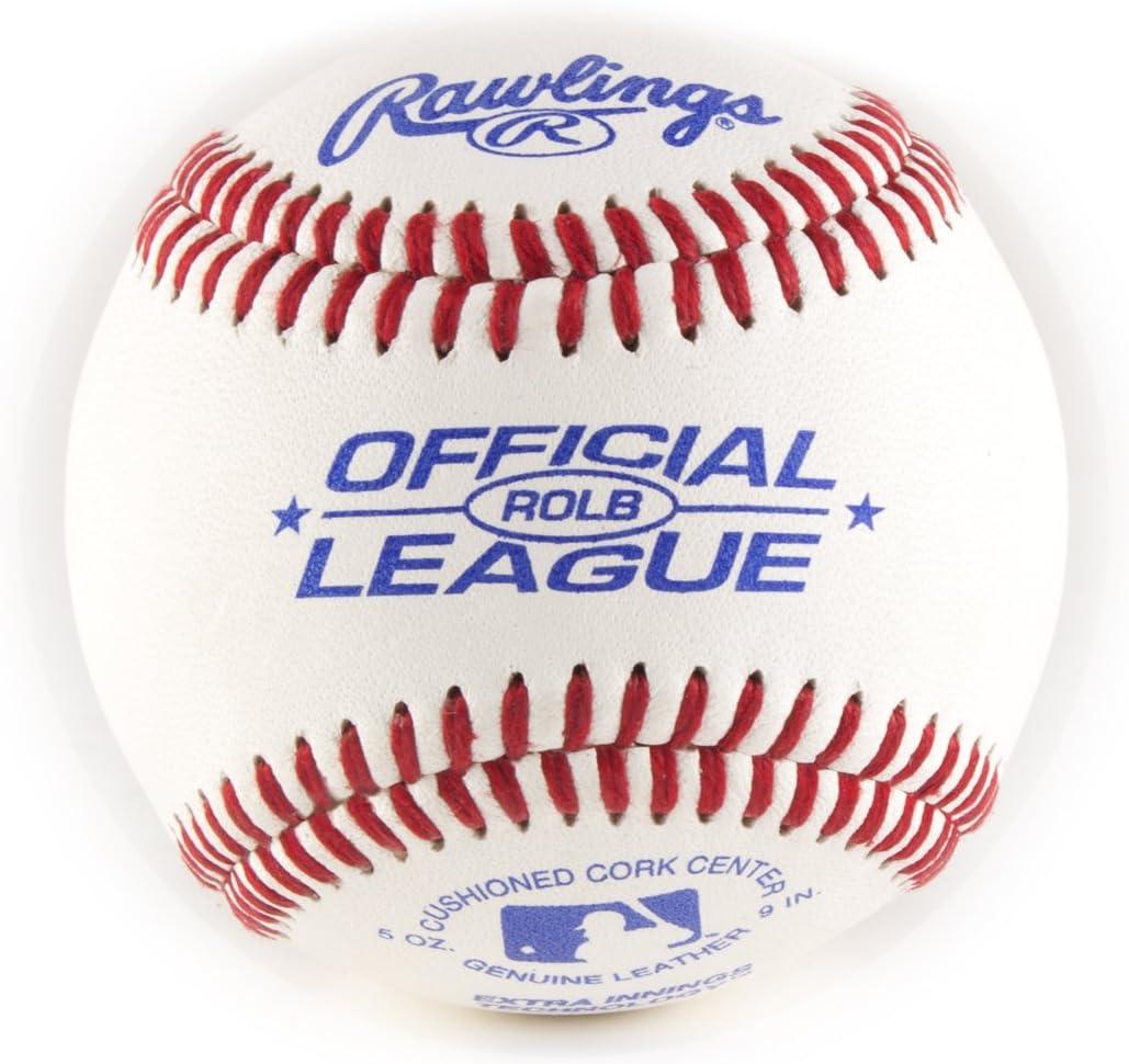 12 Pack Rawlings Official Little League RLLB1 Baseballs Raised Seams Durable