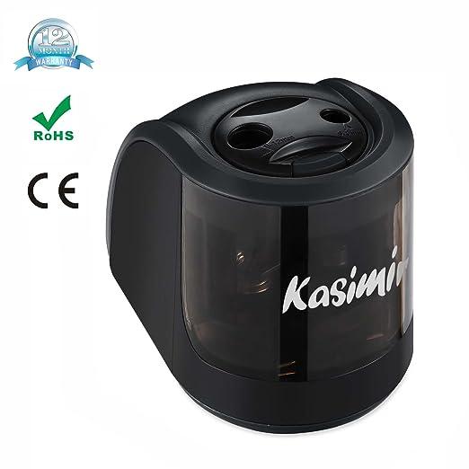 19 opinioni per Temperamatite Elettrico Kasimir A Due Fori (6-8mm 9-12mm) Efficienza Automatico