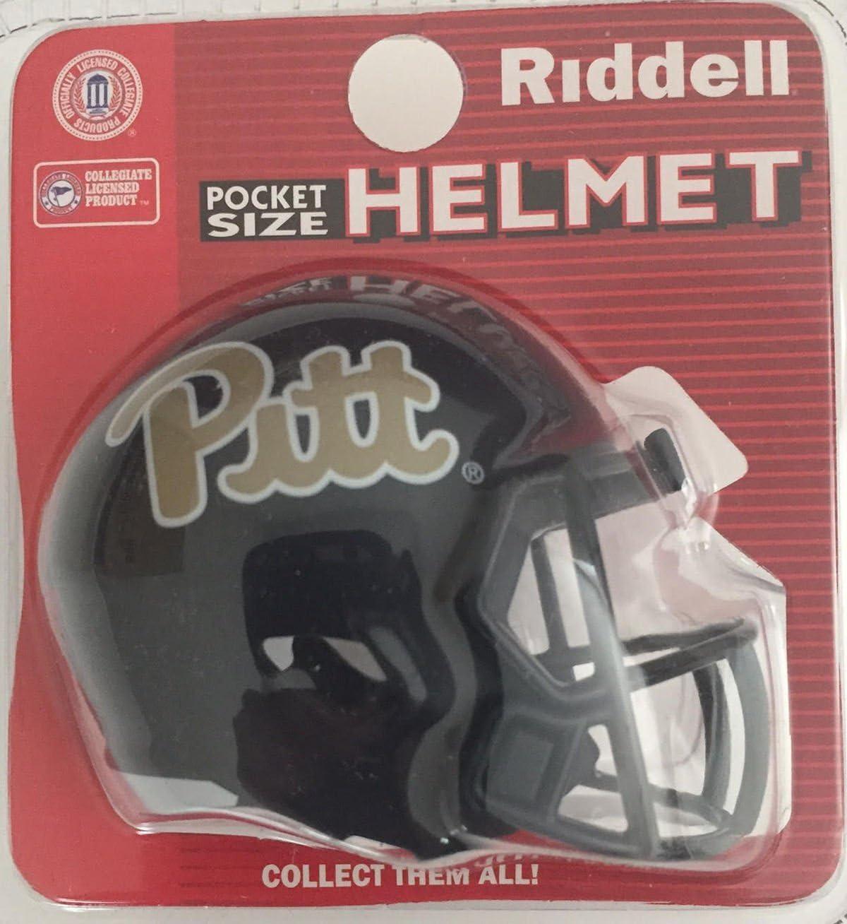 Riddell Pittsburg Pitt Panthers NCAA Football Helmet Christmas Tree DIY Ornament