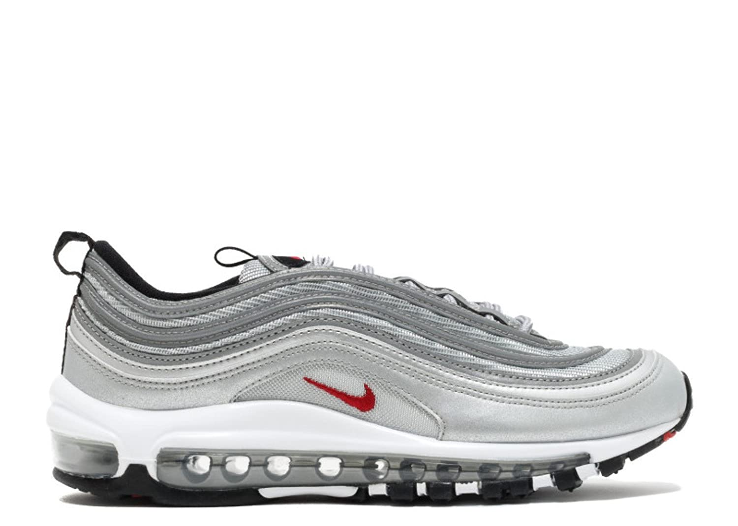 Amazon.com | NIKE Air Max 97 QS (GS) 'Silver Bullet 2017 US Release' -  918890-001 | Running