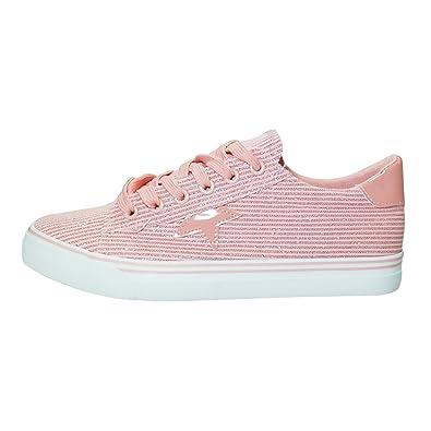 a5d44bca40d9ea Juliet Damen Glitzer Star Canvas Sneaker Turn Sport Tanz Schuh Halbschuhe  GR. 36-41  Amazon.de  Schuhe   Handtaschen
