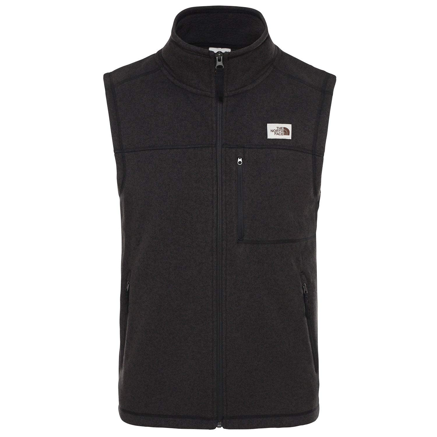 The North Face Men's Gordon Lyons Vest, TNF Black Heather, L by The North Face