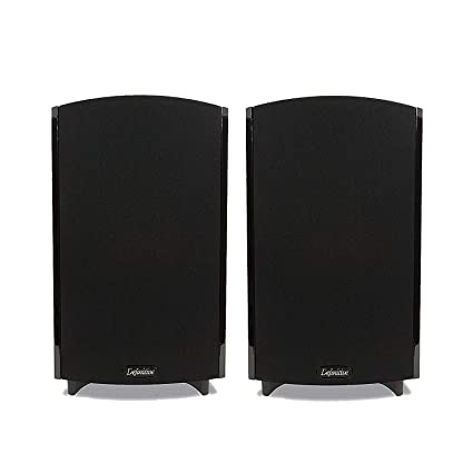 Definitive Technology ProMonitor 1000 Compact Satellite Bookshelf Speaker Pair With BDSS Drivers Pure