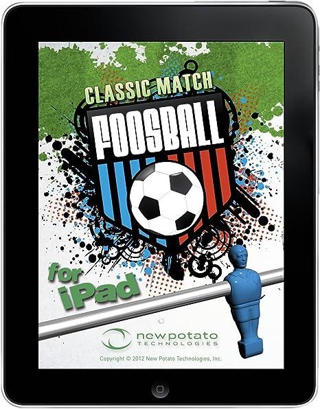 New Classic de Patata Match futbolín Mesa de Juego para iPad 1, 2 ...