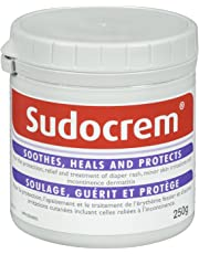 Sudocrem Diaper Rash Cream | Soothes, Heals and Protects | For the Protection, Relief and Treatment of Diaper Rash, Minor Skin Irritations | 250g