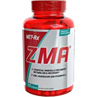 MET-Rx ZMA Supplement, Supports Muscle Recovery, 90 Capsules