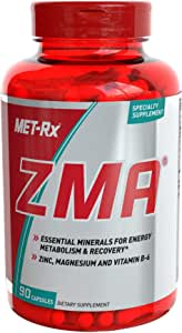 MET-Rx - ZMA Essential Minerals for Energy - 90 Capsules