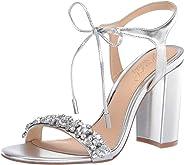 Badgley Mischka Womens Uzuri Heeled Sandal