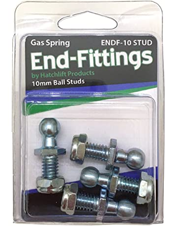 Hatchlift ENDF-10-STUD 10mm Ball Studs w/nyloc Nuts