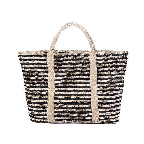 fonxoy-backpack Bolsa De Paja Bolsa De Playa De Bolso De ...