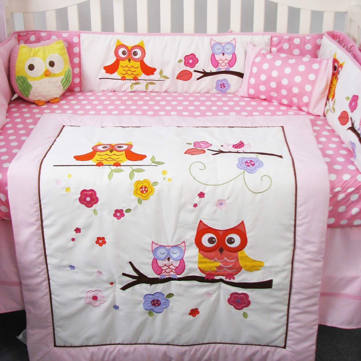 Amazon.com: SoHo - Juego de ropa de cama para cuna de bebé ...
