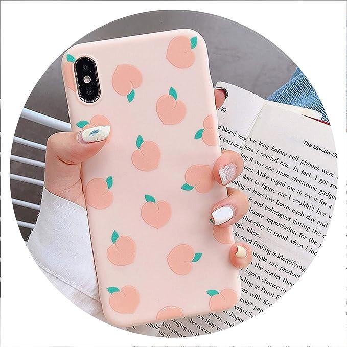 coque iphone 6 fruit peche