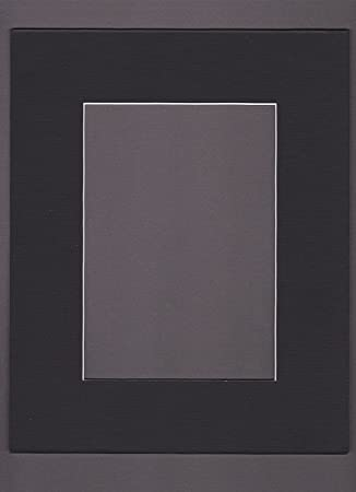 18x24 black picture mats mattes matting with white core bevel cut for 13x19 pictures