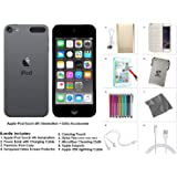 Apple iPod Touch 6th Generation and Accessories, 64GB - Space Grey