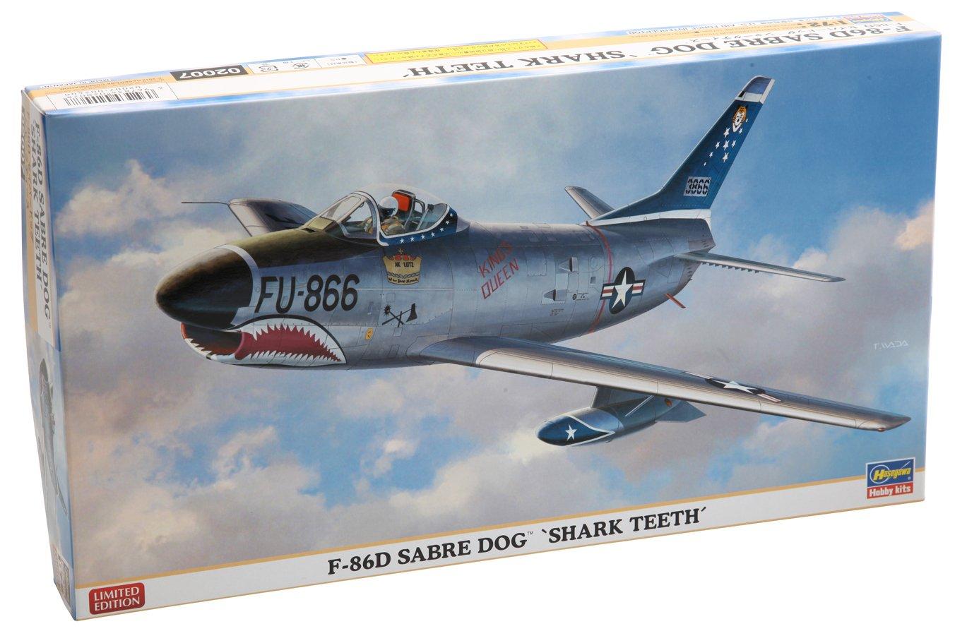 ハセガワ 1/72 F-86D セイバードッグ シャークティース B008XFVIGE