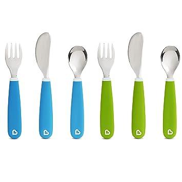 Amazon.com: Splash - Juego de tenedor, cuchillo y cuchara ...