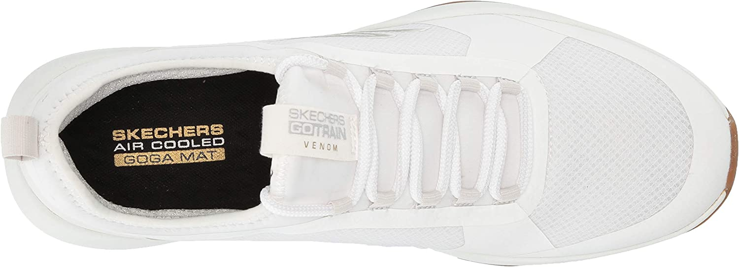 Skechers mens P000604621 Go Train Venom White