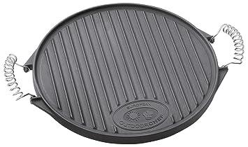 accessori per barbecue outdoorchef piastra in ghisa plancha