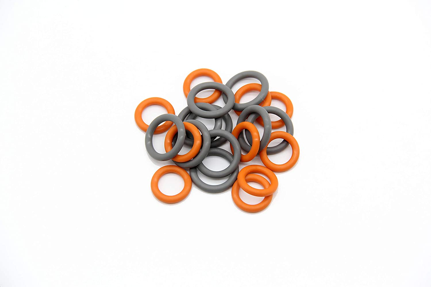 1//4 /& 3//8 Pressure Washer Quick Coulper QD Colored O-Rings 20 Pack