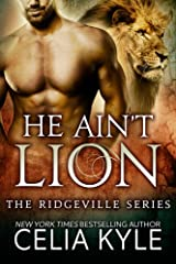 He Ain't Lion (BBW Paranormal Shapeshifter Romance) (Ridgeville Series Book 1) Kindle Edition