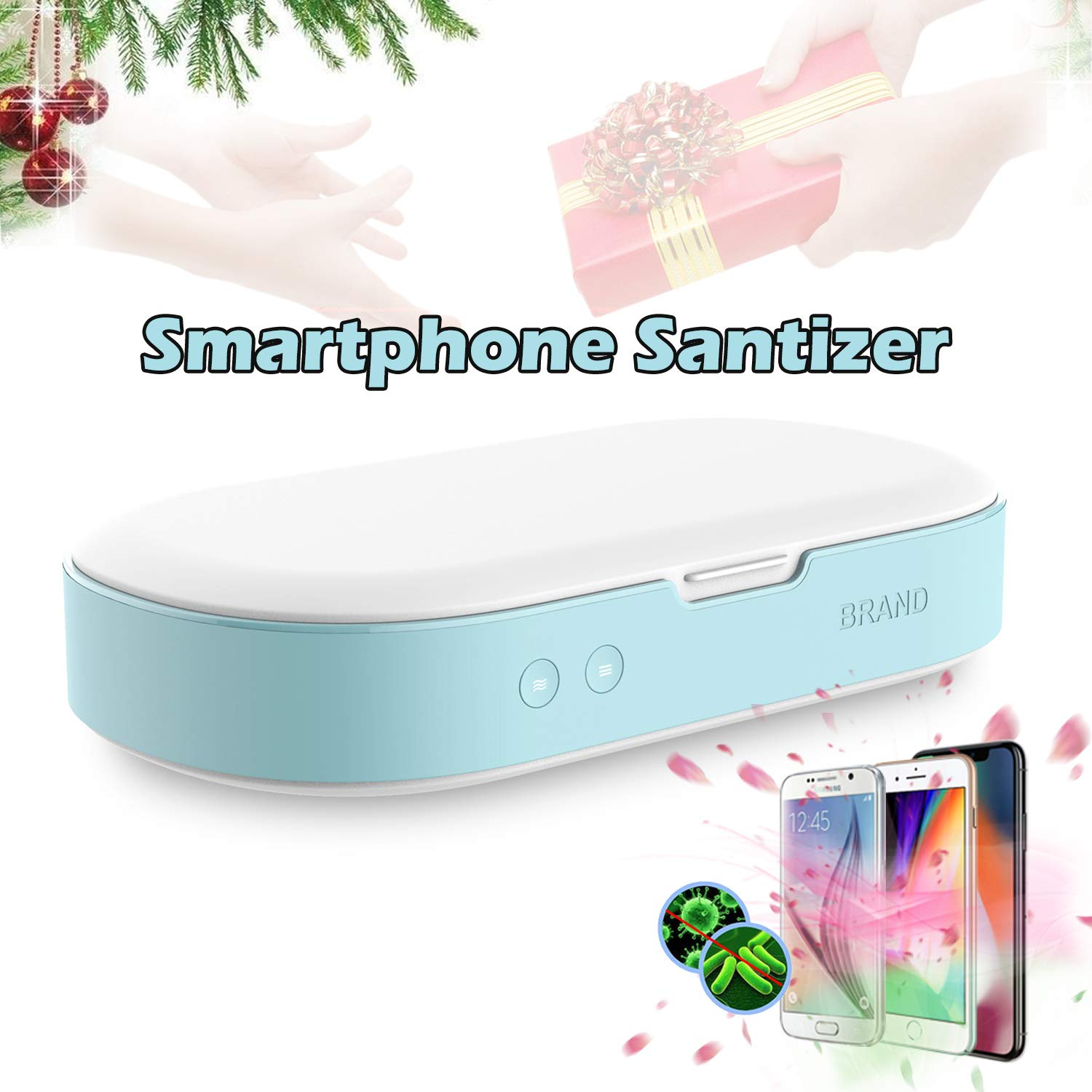 Smartphone Sanitizer Sterilizer Phone Cleaners,UV Light Cell Phone Sanitizer Sterilizer Cleaners for All Phones Jewelry Watch Sterilizer Cleaner by Eshake