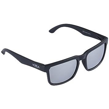 W:O:A – Wacken Open Air Gafas de sol, protección UV400 cat. 3, con funda, color negro mate