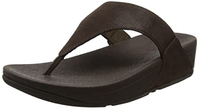 eb41a7eebcf Fitflop Women s s Lulu Toe-Thong Sandals - Shimmer-Check  Amazon.co ...