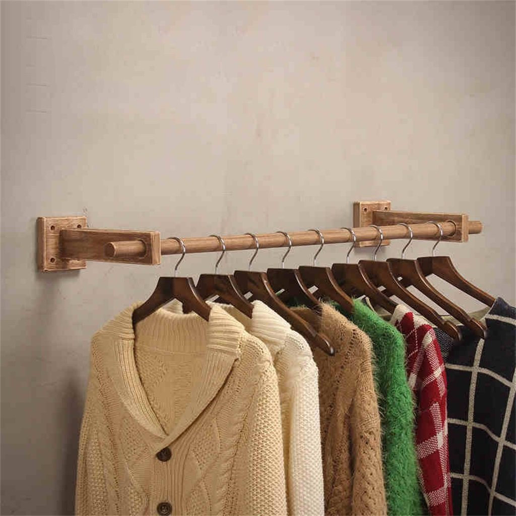 Amazon.com: Dika UK Coat Racks Free Standing Wooden Retro ...