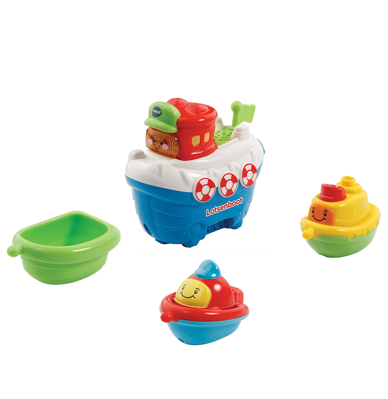 Vtech Baby 80-500304 - TUT Baby Badewelt - Lotsenboot mit Freunden