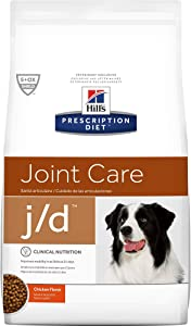 Hill's Prescription Diet j/d Joint Care Chicken Flavor Dry Dog Food, 8.5 lb bag