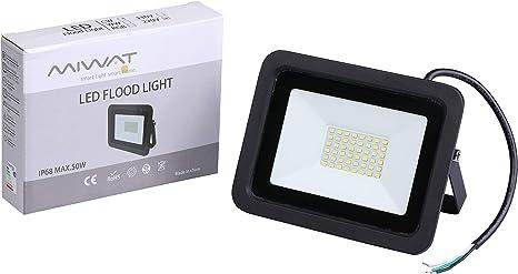 RGB LED Flood Light 10W 20W 30W 50W 100W Spotlight Security Lamp Outdoor Garden
