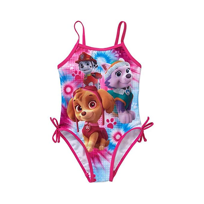 40fd502c11 Image Unavailable. Image not available for. Color: PCLOUD Paw Patrol Girls  Swimwear ...