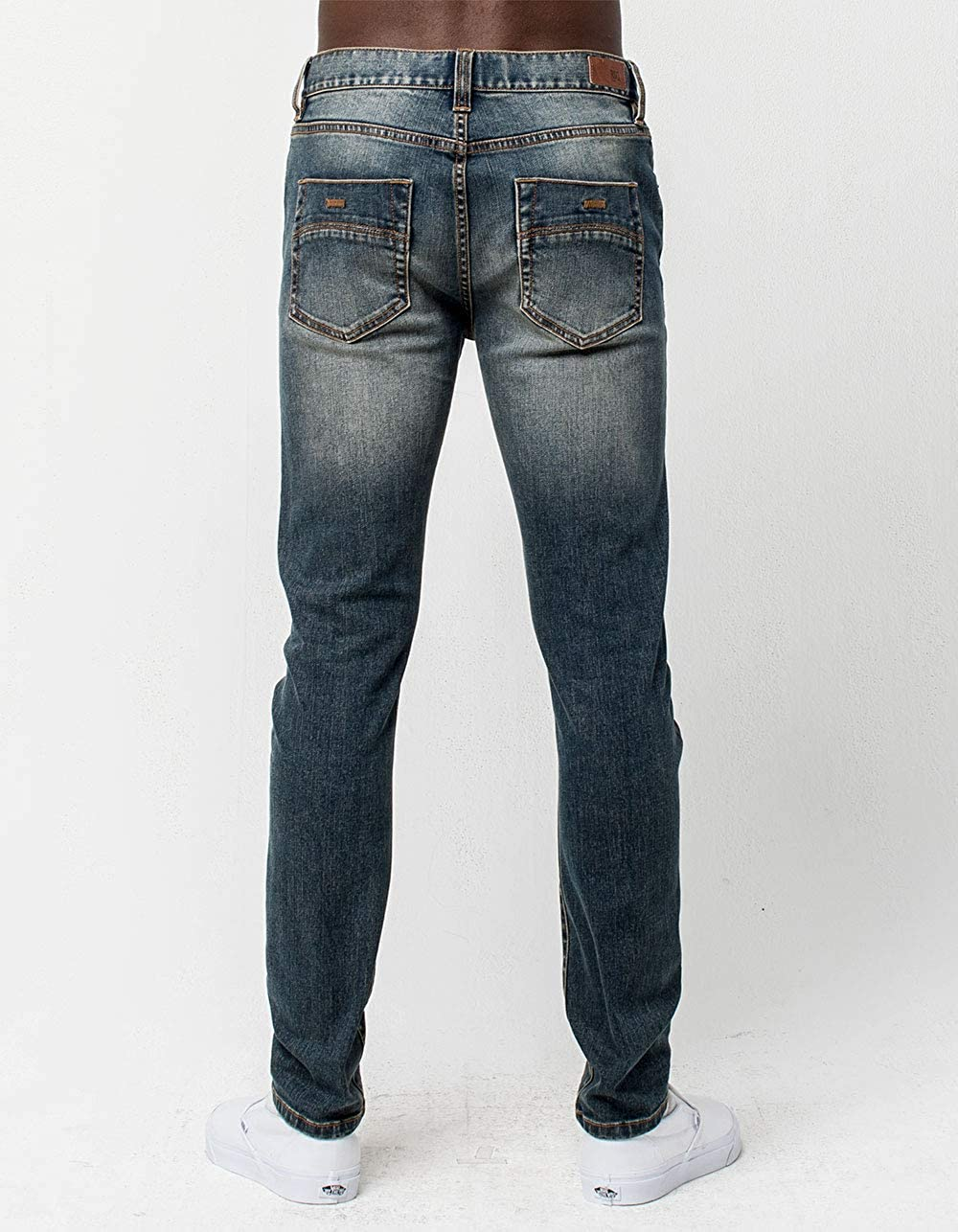 ff030babf1a Amazon.com  RSQ Seattle Knee Dart Skinny Tapered Stretch Jeans  Clothing
