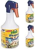 3 x 500 ml ETISSO Wespex Quick Wespen Pumpspray