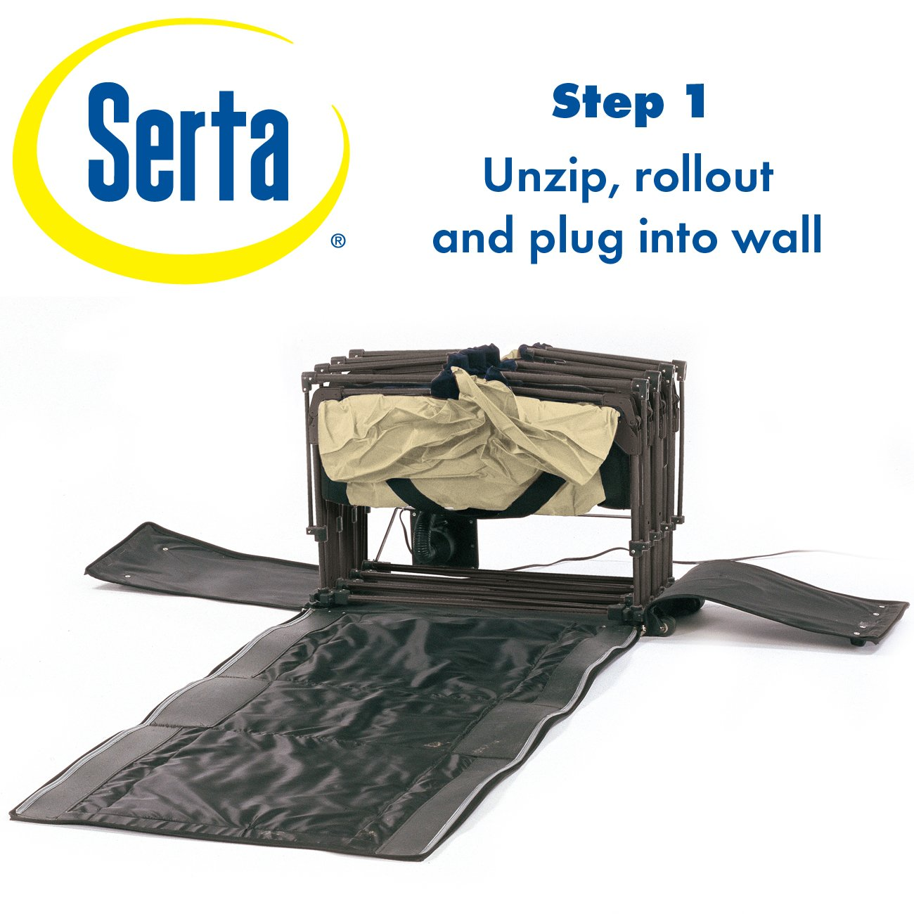 Amazon.com: Serta EZ Air Mattress with Never Flat Pump: Sports & Outdoors