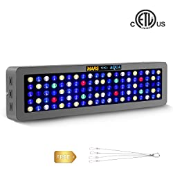 MarsAqua Dimmable 165W 300W LED Aquarium Light