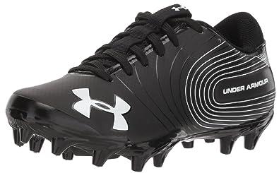 0ecadbff563e Under Armour Boys' Speed Phantom Jr. Football Shoe Black (001)/White