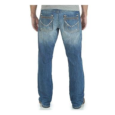 a40cb1d3626 Wrangler Men's Rock 47 Relaxed Fit Boot Cut Jean at Amazon Men's ...