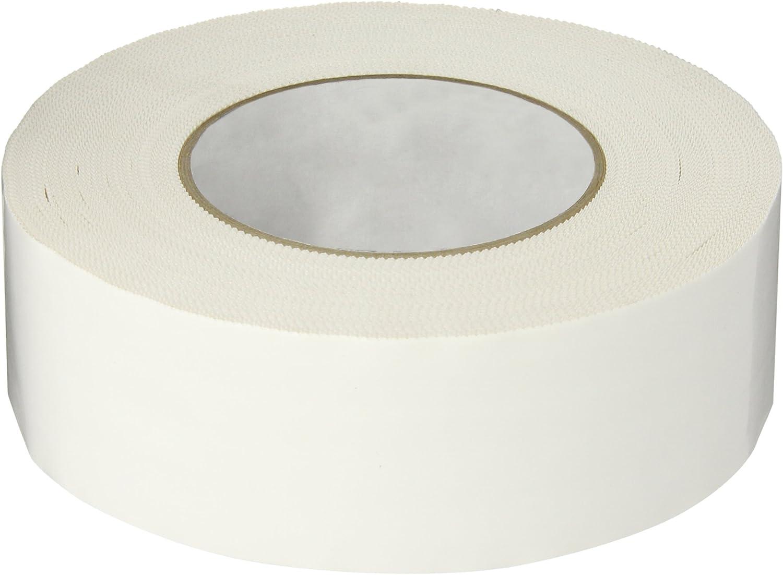 55m Length x 48mm Width Polyken 827 Polyethylene Film Premium Grade Multi-Purpose Tape with Pinked Edge White Pack of 2