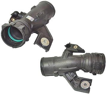 Para Qashqai 1,5 dCi toma de aire Turbo manguera tubo tubo 14460bb30 a 14460bb31 a: Amazon.es: Coche y moto