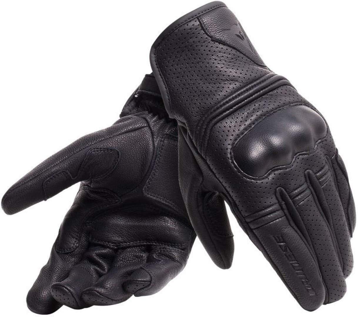 guantes de moto de cuero verano