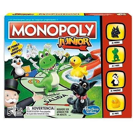 Monopoly- Junior (Versión Española), Multicolor (Hasbro A6984793)