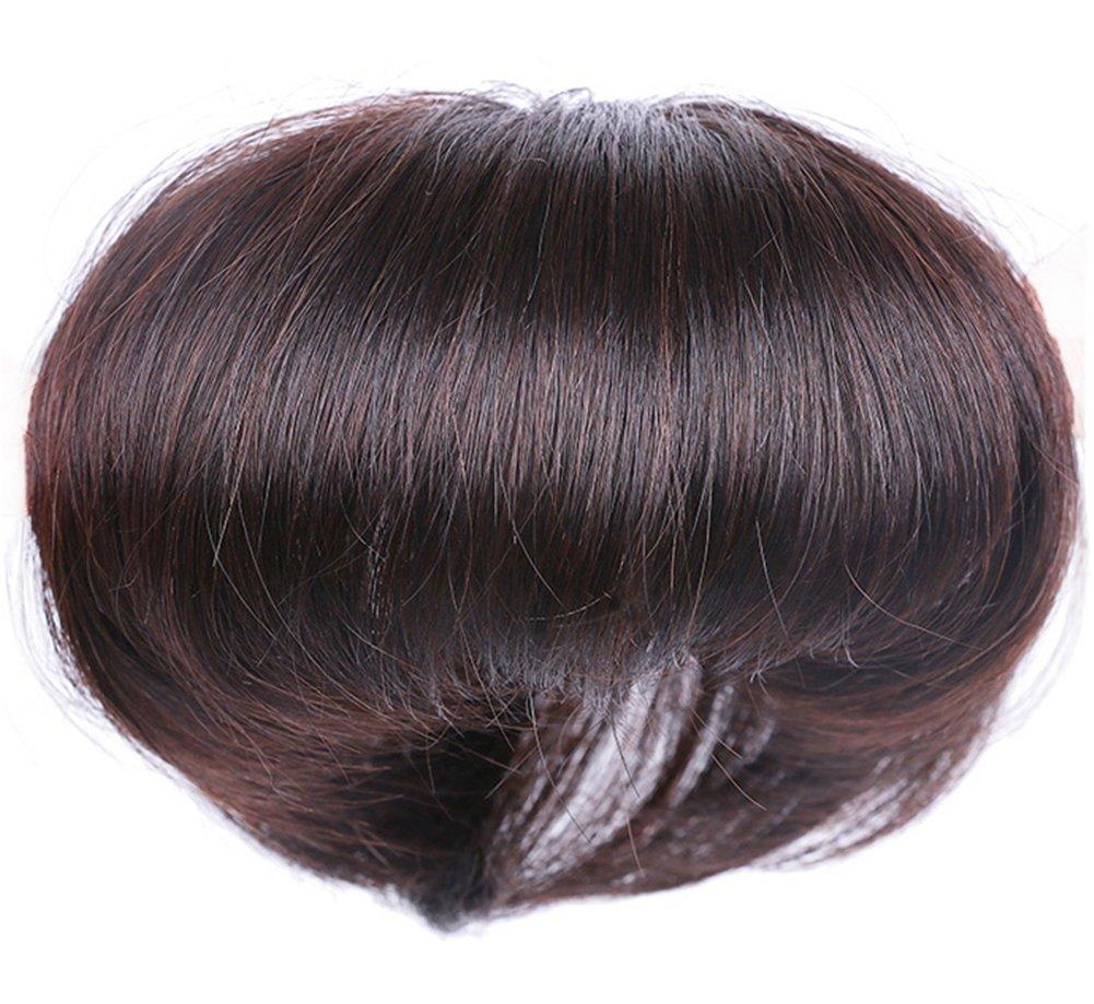 Yair Yangtze - Decoración de pelo humano con brazaletes para mujer, 4,7 x 4,7 pulgadas: Amazon.es: Belleza