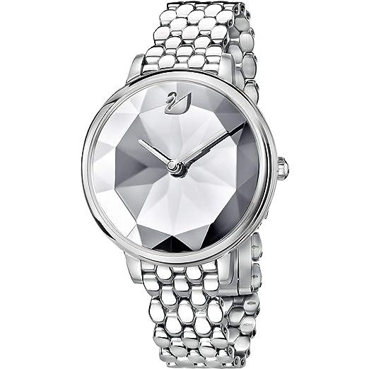 Swarovski Reloj de Mujer Cuarzo Caja de Acero dial Claro 5416017: Amazon.es: Relojes