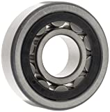 FAG NU2207E-TVP2 Cylindrical Roller Bearing, Single Row, Straight Bore, Removable Inner Ring, High Capacity, Polyamide Cage, Normal Clearance, 35mm ID, 72mm OD, 23mm Width