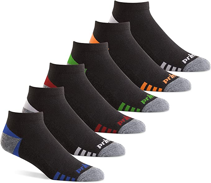 Pack of 6 Tennis and Casual Use Prince Womens No Show Performance Athletic Socks for Running
