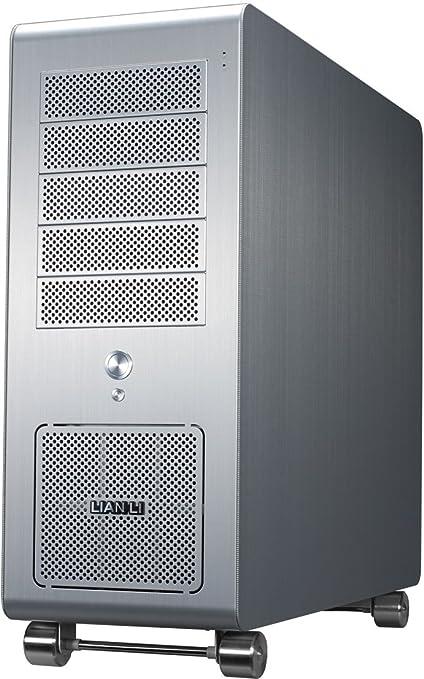 Lian Li PC-V1010A carcasa para torre de aluminio de plata de ...
